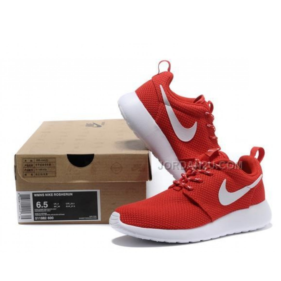 Roshe Shoes All Red