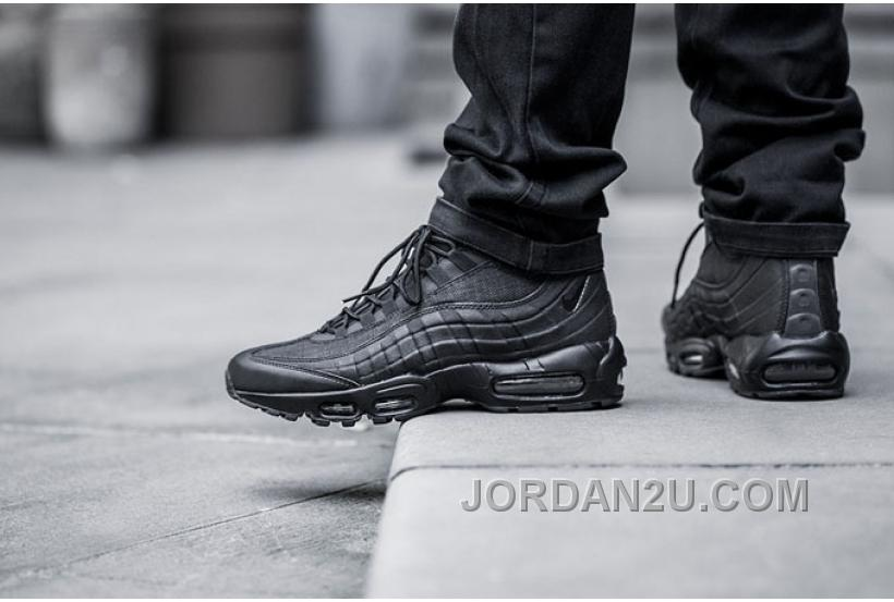 Air schwarz max 95 sneakerboot schwarz Air christmas 140ad2